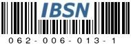 IBSN: Internet Blog Serial Number 062-006-013-1